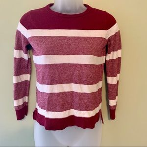 Vince Striped Sweater, Size Small